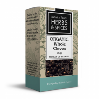 Infinity Foods Organic Cloves Whole 20g